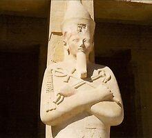 Luxor, Queen Hatshepsut Statue by ishtarsands
