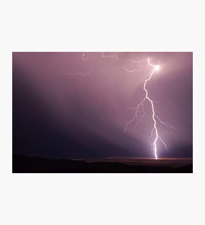 Fork Lightning near Port Germain Photographic Print