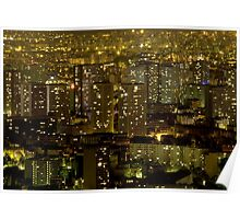 France - Paris 75014 - By night Poster
