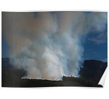 Mt. Rowland, Forestry Fire Tasmania 2008 Poster