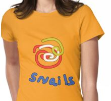 Snails with a twist TEE SHIRT/BABY GROW Womens Fitted T-Shirt