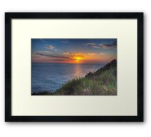 Solitude - Mona Vale Headland Sydney - The HDR Experience Framed Print