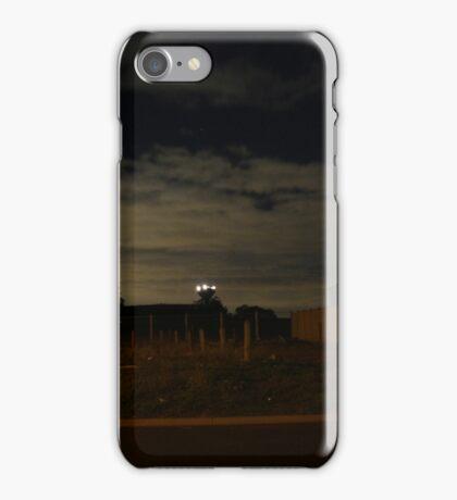 Quiet Suburb at Night iPhone Case/Skin