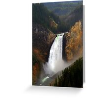 Lower Falls - The Front View Greeting Card