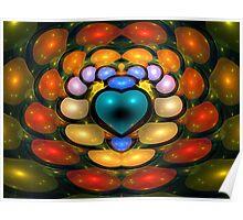 Jellybean Heart Poster