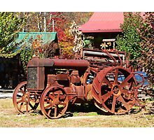 """""""Rusty Old Tractor"""" Photographic Print"""