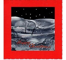 Christmas card 1. Photographic Print