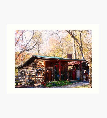 """ Harvest Vendor "" Art Print"