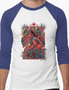 Pierce the Heavens (Red Version) Men's Baseball ¾ T-Shirt