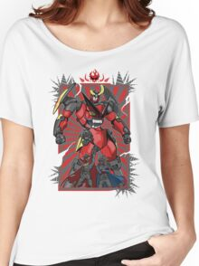 Pierce the Heavens (Red Version) Women's Relaxed Fit T-Shirt