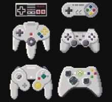 8-Bit Controllers by Awful-Things