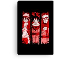 LEGENDS - red version Canvas Print