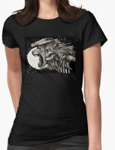 The Demon Boy COLOUR Womens Fitted T-Shirt