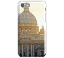 Sunset Over St. Peter iPhone Case/Skin