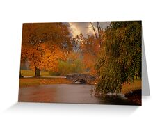 Fall in King of Prussia, PA Greeting Card