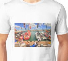 Volvo Ocean Race at the docks Unisex T-Shirt