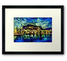 Cefalu Sicily Italy Fine Art Print Framed Print