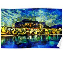 Cefalu Sicily Italy Fine Art Print Poster