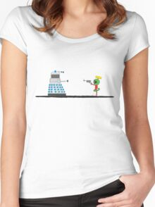 To Exterminate or Disintegrate 2 Women's Fitted Scoop T-Shirt