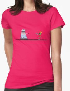 To Exterminate or Disintegrate 2 Womens Fitted T-Shirt