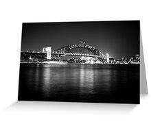 Sydney Harbour Bridge Greeting Card