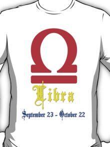 Libra, September 23 - October 22 T-Shirt