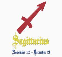 Sagittarius, November 22 - December 21 by Adrian Bud