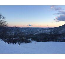 Snow Mountains Photographic Print
