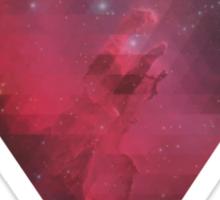 Pink Nebula Sticker