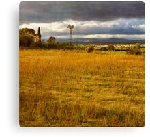 Dreamy french farm house Canvas Print