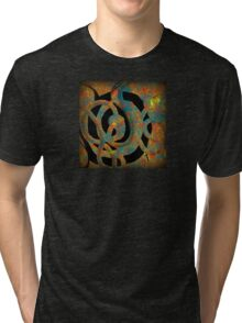 Unique Decorative Abstract Tri-blend T-Shirt