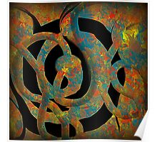 Unique Decorative Abstract Poster