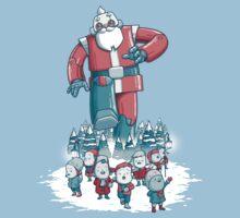Robo Santa by hammo
