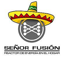 Señor fusión - Mr.Fusion mexican edition Photographic Print