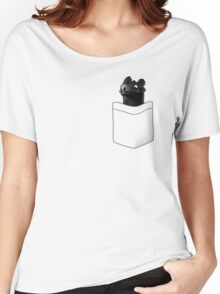 Toothless in your Pocket t shirt Women's Relaxed Fit T-Shirt