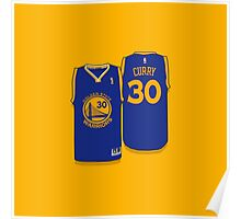 STEPHEN CURRY- Nba Finals Jersey - SMILE DESIGN Poster