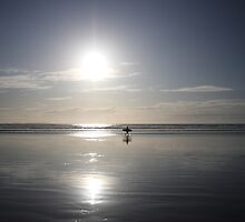 The Lone Surfer by id4jd