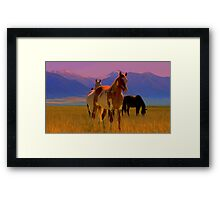 Paint Me Fearless  Framed Print