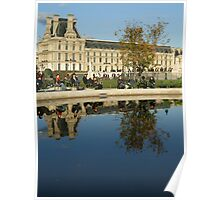 Les jardin de Tuileries Poster