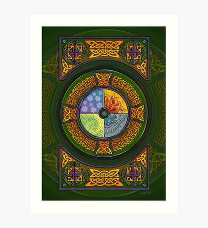 Celtic Elements Art Print