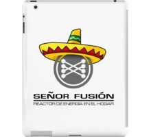 Señor fusión - Mr.Fusion mexican edition iPad Case/Skin
