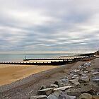 Sheringham beach by Uwe Rothuysen