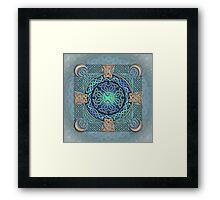 Celtic Eye of the World Framed Print