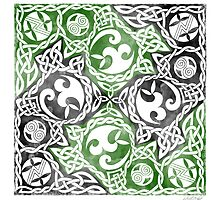 Celtic Puzzle Square by foxvox