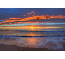 Awakening - Newport Beach - The HDR Experience Photographic Print