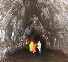 Thurston Lava Tube, Hawaii Volcanoes National Park by DonnaMoore