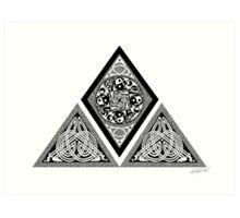 Celtic Pyramid Art Print