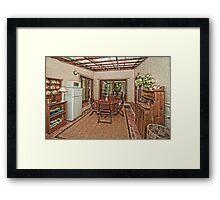 Outdoor Living Framed Print