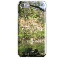 Peaceful garden iPhone Case/Skin
