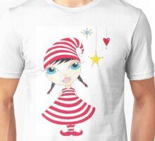 Candy Cane Elf Unisex T-Shirt